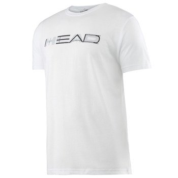 koszulka tenisowa męska HEAD TRANSITION DARTH GRAPHIC T-SHIRT / 811516 WH