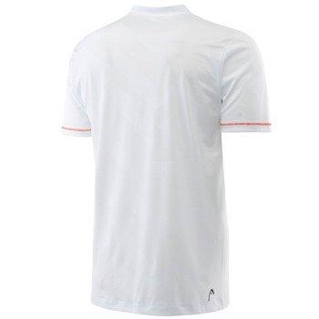 koszulka tenisowa męska HEAD VISION HASE V-NECK SHIRT / 811276 WH