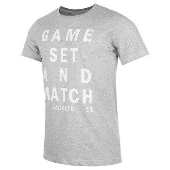 koszulka tenisowa męska LACOSTE T-SHIRT TECHNICAL JERSEY / TH8306 MTG