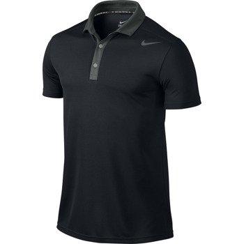 koszulka tenisowa męska NIKE BASELINE POLO / 596582-010