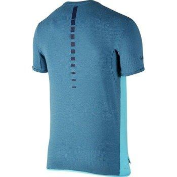 koszulka tenisowa męska NIKE CHALLENGER PREMIER RAFA CREW / 728956-418