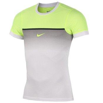 koszulka tenisowa męska NIKE CHALLENGER PREMIER RAFA CREW Rafael Nadal Indian Wells 2015 / 644716-100