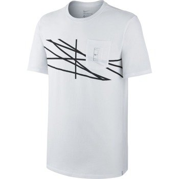 koszulka tenisowa męska NIKE COURT FRENCH OPEN AGASSI / 739483-100