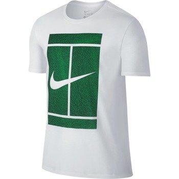 koszulka tenisowa męska NIKE COURT LOGO TEE / 777869-100