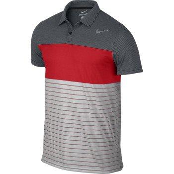 koszulka tenisowa męska NIKE DRI-FIT TOUCH STRIPE POLO / 598146-010
