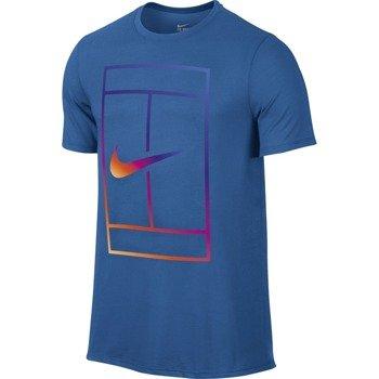 koszulka tenisowa męska NIKE IRRIDESCENT COURT TEE / 803880-446
