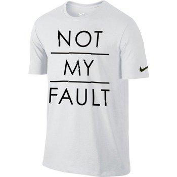 koszulka tenisowa męska NIKE NOT MY FAULT / 749769-100