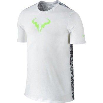 koszulka tenisowa męska NIKE RAFA SHORTSLEEVE CREW TEE / 688582-100