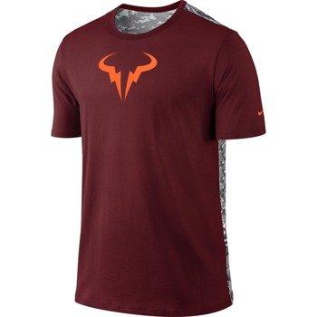 koszulka tenisowa męska NIKE RAFA SHORTSLEEVE CREW TEE / 688582-677