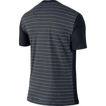 koszulka tenisowa męska NIKE ROGER SHORTSLEEVE V-NECK TEE / 688576-010