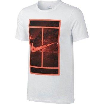 koszulka tenisowa męska NIKE STREET COURT / 715819-100