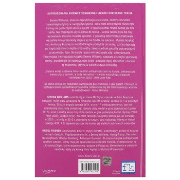 książka MOJE ŻYCIE Serena William i Daniel Paisner / TWARDA OPRAWA