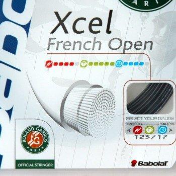naciąg tenisowy BABOLAT XCEL French Open Roland Garros  12m BLACK