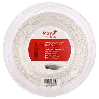 naciąg tenisowy MSV FOCUS HEX PLU38 200M WHITE