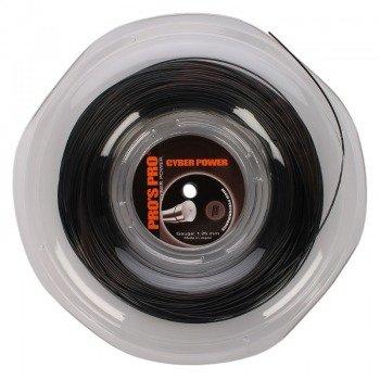 naciąg tenisowy PRO'S PRO CYBER POWER 200M black