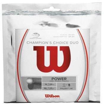naciąg tenisowy WILSON CHAMPIONS CHOICE DUO / WRZ997900