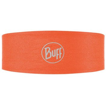 opaska do biegania BUFF HEADBAND TECH BUFF ORANGE FLUOR / 108749