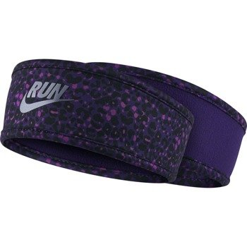 opaska do biegania damska dwustronna WOMEN'S RUN LOTUS HEADBAND / 800686-547