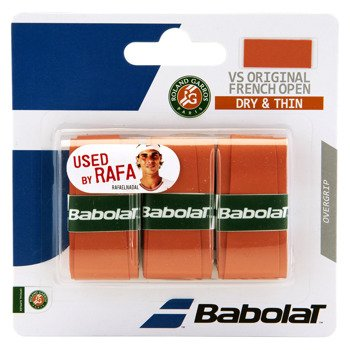owijka tenisowa BABOLAT VS GRIP ORIGINAL Roland Garros CLAY / 653041-120