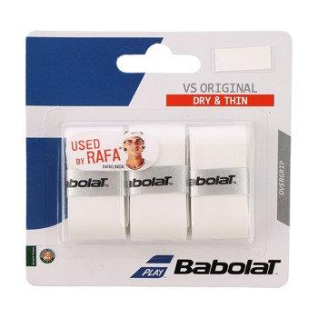 owijka tenisowa BABOLAT VS GRIP ORIGINAL Roland Garros WHITE / 653027-101