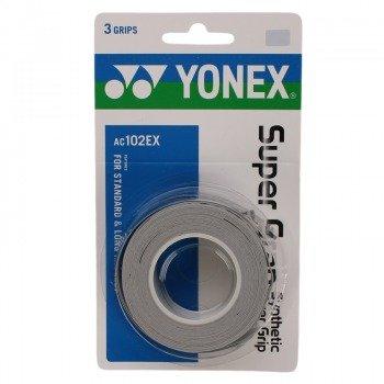 owijka tenisowa YONEX X3 SUPER GRAP GREY / AC102EX