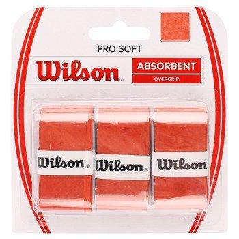 owijki tenisowe WILSON PRO SOFT OVERGRIP  x3 / WRZ4040OR