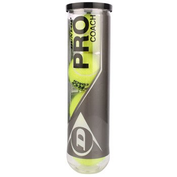 piłki tenisowe DUNLOP PRO COACH 18 x 4szt. karton / TPD-058