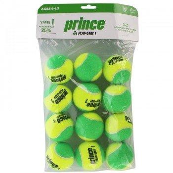 piłki tenisowe PRINCE P & S STAGE 1 TONE X12