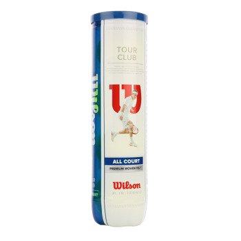 piłki tenisowe WILSON TOUR CLUB 4szt. x 18 / WRT114600