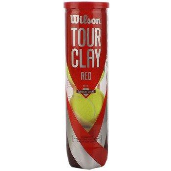 piłki tenisowe WILSON TOUR RED CLAY - karton 18 x 4szt. / WRT110800
