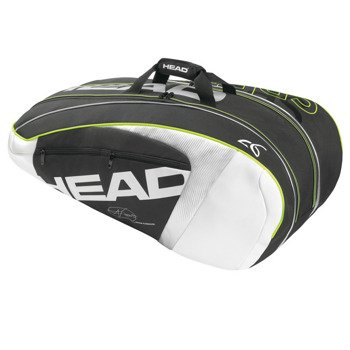 rakieta tenisowa HEAD GRAPHENE XT SPEED PRO  + torba tenisowa HEAD NOVAK DJOKOVIC SUPERCOMBI