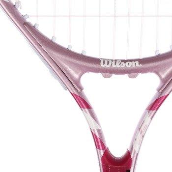 rakieta tenisowa juniorska WILSON ENVY PINK 23 / WRT223600