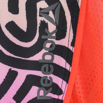spodenki do biegania damskie REEBOK RUNNING ESSENTIALS 4INCH SHORT / AJ0418