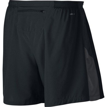 "spodenki do biegania męskie NIKE 5"" PURSUIT 2-IN1 SHORT / 622376-010"