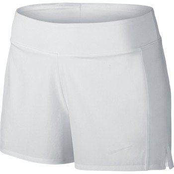 spodenki tenisowe damskie NIKE BASELINE SHORT / 728785-100