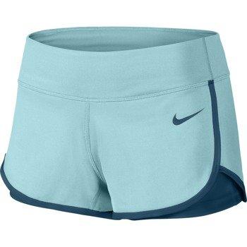 spodenki tenisowe damskie NIKE COURT SHORT / 646175-437