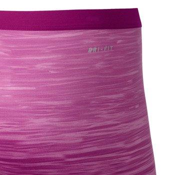 spodenki tenisowe damskie NIKE SLAM PRINTED SHORT / 596712-514