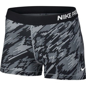 spodenki termoaktywne damskie NIKE PRO COOL SHORT 3IN OVERDRIVE / 803158-012