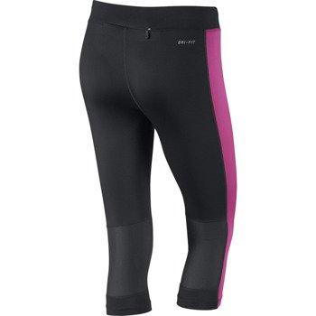 spodnie do biegania damskie 3/4 NIKE DRI-FIT ESSENTIAL CAPRI / 645603-013