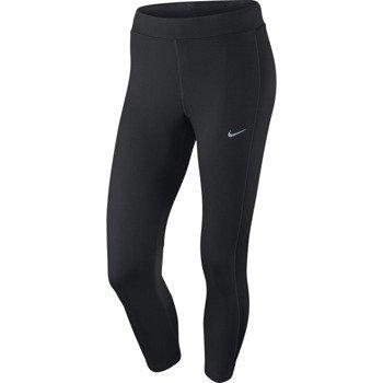 spodnie do biegania damskie 3/4 NIKE DRI-FIT ESSENTIAL CROP / 667623-010