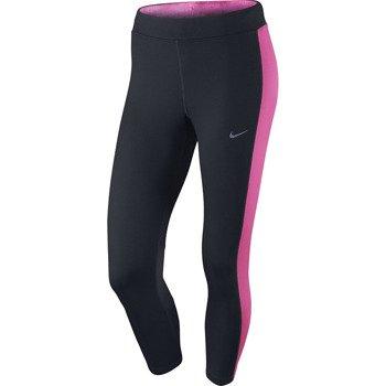 spodnie do biegania damskie 3/4 NIKE DRI-FIT ESSENTIAL CROP / 667623-013