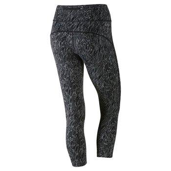 spodnie do biegania damskie 3/4 NIKE POWER EPIC RUNNING CROP / 799820-010