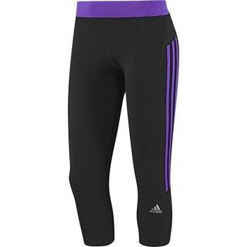spodnie do biegania damskie ADIDAS RESPONSE 3/4 TIGHT / D85487