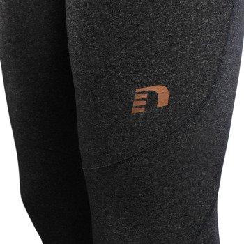 spodnie do biegania męskie NEWLINE IMOTION HEATHER WARM TIGHTS / 11163-794