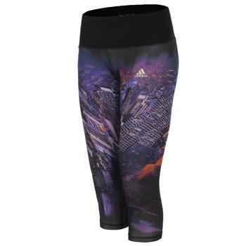 spodnie sportowe damskie 3/4 ADIDAS INFINITE SERIES TIGHT / S11609