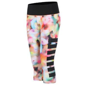 spodnie sportowe damskie 3/4 ADIDAS INFINITE SERIES TIGHT / S12119