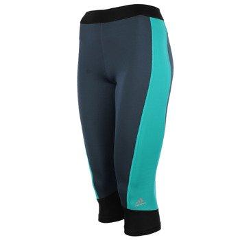 spodnie sportowe damskie 3/4 ADIDAS TECHFIT CAPRI / AJ2265