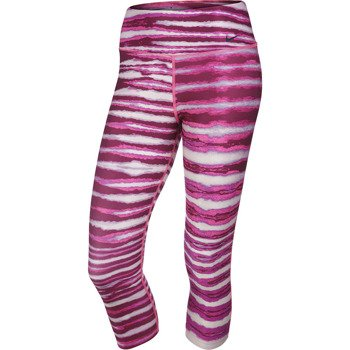 spodnie sportowe damskie 3/4 NIKE LEGEND 2.0 TIGHT TIGER CAPRI / 620249-639