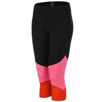 spodnie sportowe damskie 3/4 REEBOK DANCE FOUNDATION CAPRI / Z93545