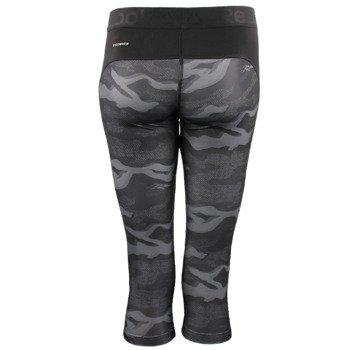 spodnie sportowe damskie 3/4 REEBOK WORKOUT READY PRINTED CAPRI / AP4299